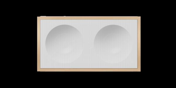 Onkyo NCP-302-W - Weiß - Ansicht vorne