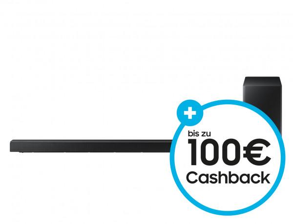 Samsung Cashback Aktion: Samsung HW-Q60R/ZG - Schwarz - Ansicht vorne