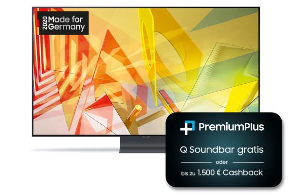 Samsung PremiumPlus Aktion: Samsung Q95T GQ85Q95TGTXZG - 4K QLED TV