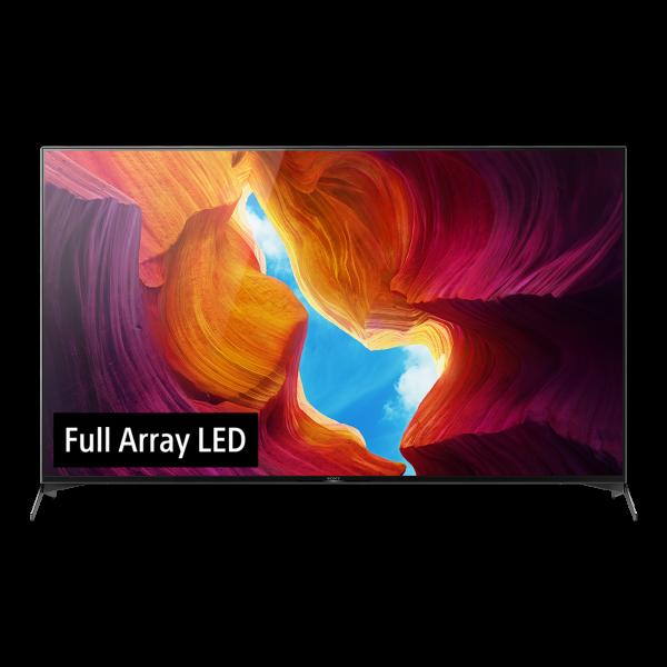 Sony XH95 KD-75XH9505BAEP - 4K LED TV - Ansicht vorne 1