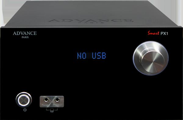 Advance Smart PX1 - Schwarz - Ansicht vorne