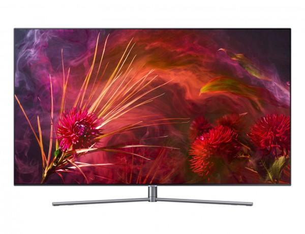 Samsung GQ65Q8FNGTXZG flat QLED Fernseher Ansicht vorne