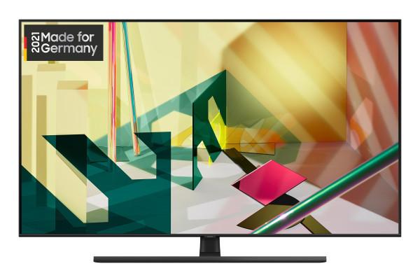 Samsung Q70T GQ55Q70TGTXZG - 4K QLED TV - Ansicht vorne