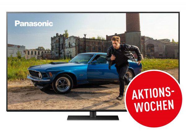 Panasonic Cashback Aktion: Panasonic TX-65HXW944 Ansicht vorne 1