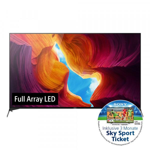 Sony Aktion: Sony XH95 KD-75XH9505BAEP - 4K LED TV - Ansicht vorne 1