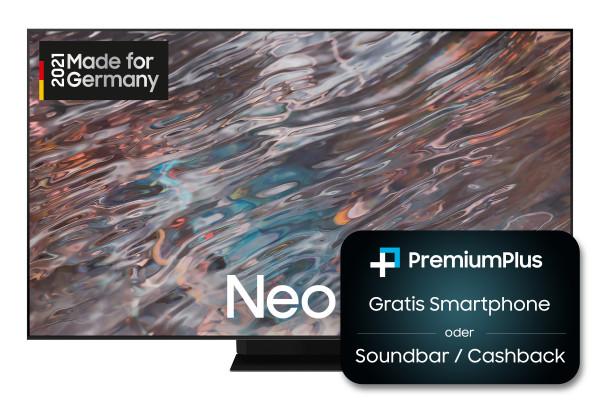 Samsung Premium Plus Aktion: Samsung QN8000A GQ85QN800ATXZG Ansicht vorne