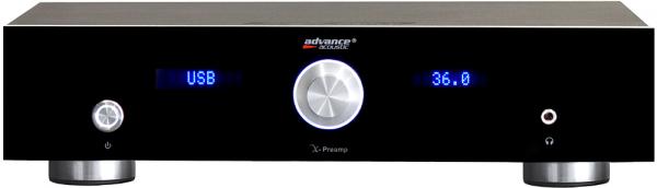 Advance X-Preamp Ansicht vorne
