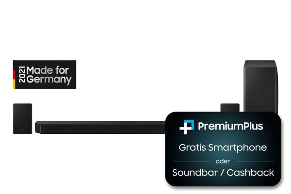 Samsung Premium Plus Aktion: Samsung HW-Q950A/ZG - Schwarz - Ansicht vorne 1