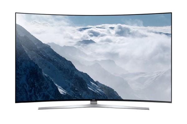 Samsung UE78KS9590TXZG SUHD Curved LED TV Ansicht vorne