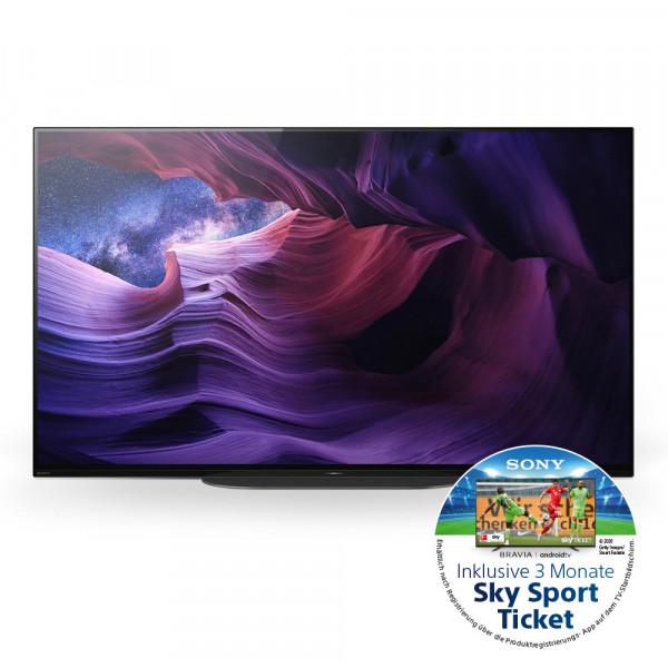 Sony Aktion: Sony KD-48A9BAEP OLED Tv Ansicht vorne 1