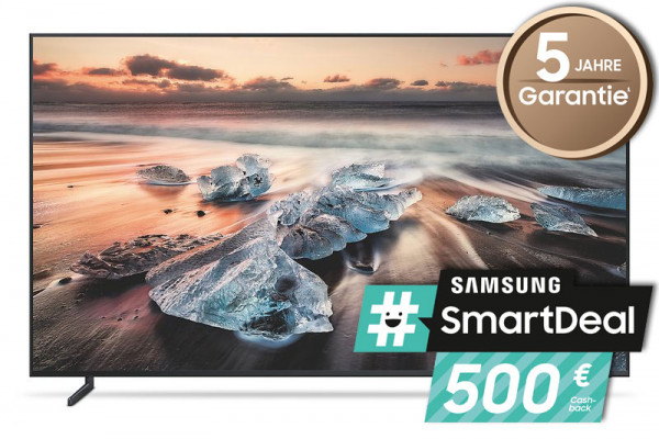 Samsung #smartdeal 8K TV Aktion:Samsung GQ85Q900RGLXZG - 8K Fernseher