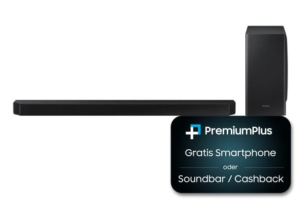 Samsung Premium Plus Aktion: Samsung HW-Q900A/ZG - Schwarz - Ansicht vorne 1