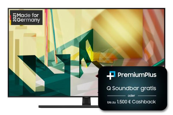 Samsung PremiumPlus Aktion: Samsung Q70T GQ85Q70TGTXZG - 4K QLED TV