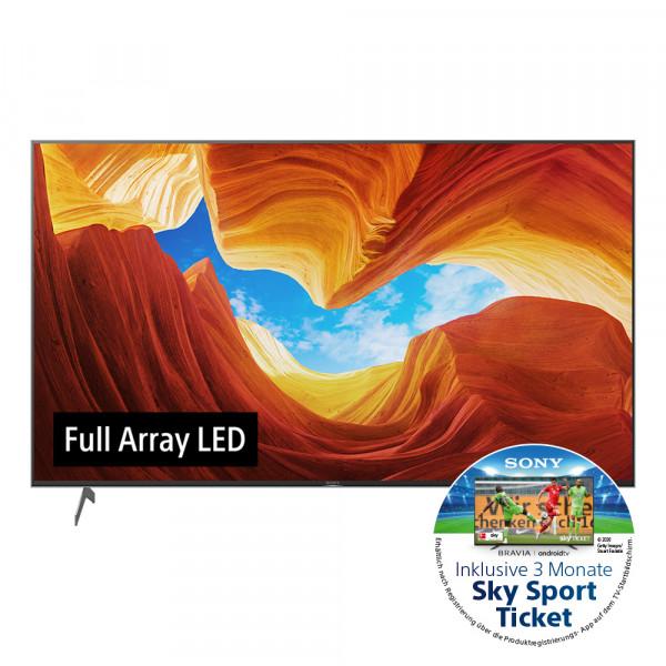 Sony Aktion: Sony XH92 KD-55XH9288BAEP - 4K Full Array LED TV - Ansicht vorne 1