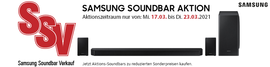 Samsung Soundbar Aktion
