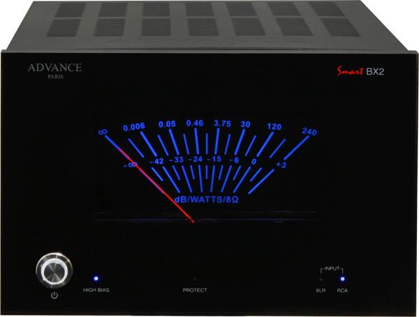 Advance Smart BX2 - Schwarz -  Ansicht vorne