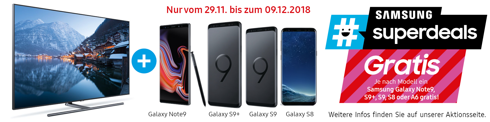 Samsung #superdeals Xmas Aktion 2018