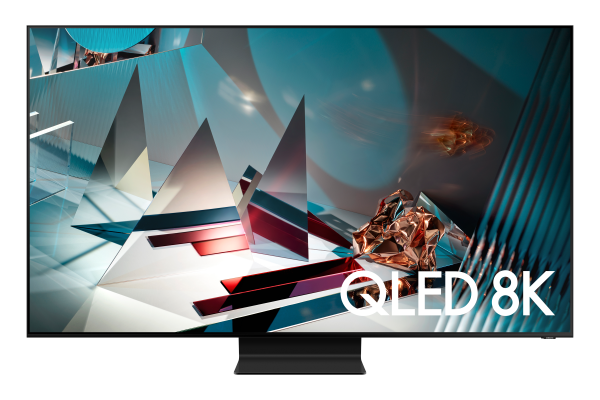 Samsung Q800T GQ75Q800TSTXZG - 8K QLED TV - Ansicht vorne 1