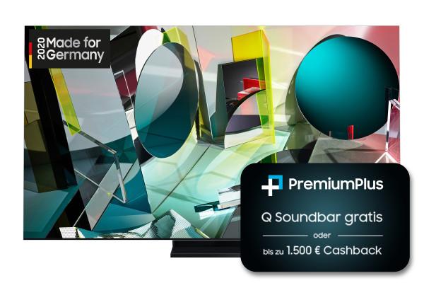 Samsung PremiumPlus Aktion:Samsung Q950T GQ65Q950TSTXZG - 8K QLED TV