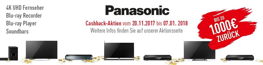Panasonic Cashback Aktion