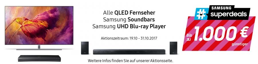 Samsung #superdeals - Angebote Oktober 2017