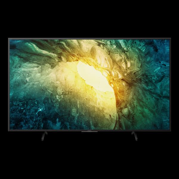 Sony X70 KD-49X7056BAEP - 4K LED TV - Ansicht vorne 1