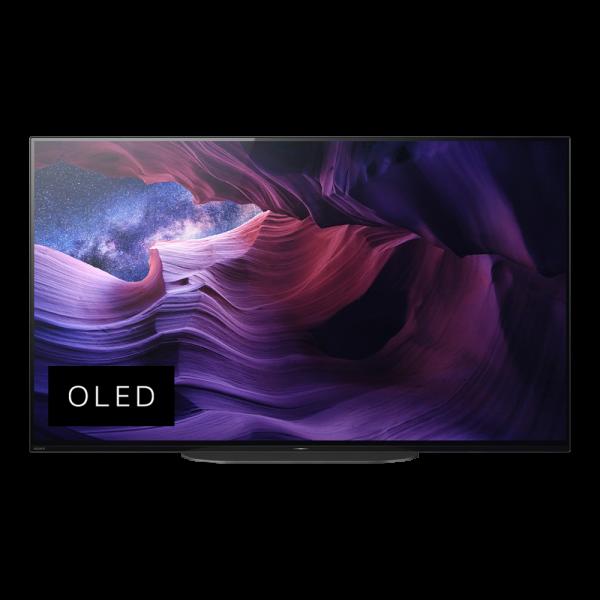 Sony KD-48A9BAEP OLED Tv Ansicht vorne 1