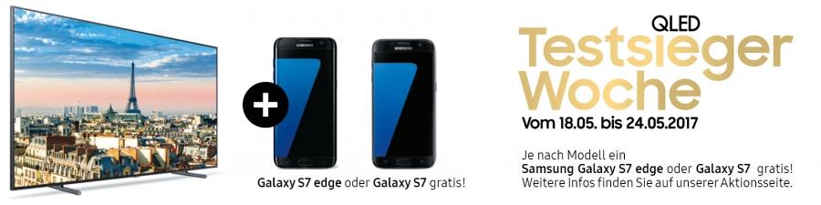 Samsung Testsieger Woche: Gratis Galaxy S7 edge oder S7