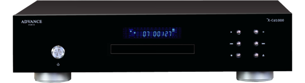 Advance X-CD1000 Ansicht vorne