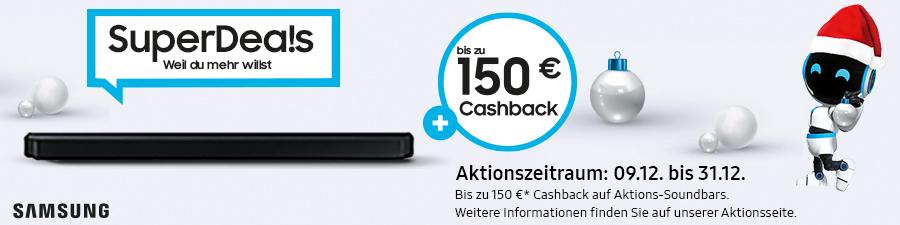 Samsung Xmas Cashback SuperDeals