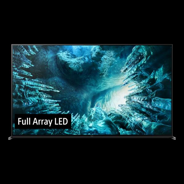 Sony ZH8 KD-85ZH8BAEP - 8K Full Array LED TV - Ansicht vorne 1