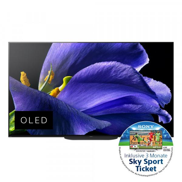 Sony Aktion: Sony KD-77AG9BEAP OLED TV - Ansicht vorne 1