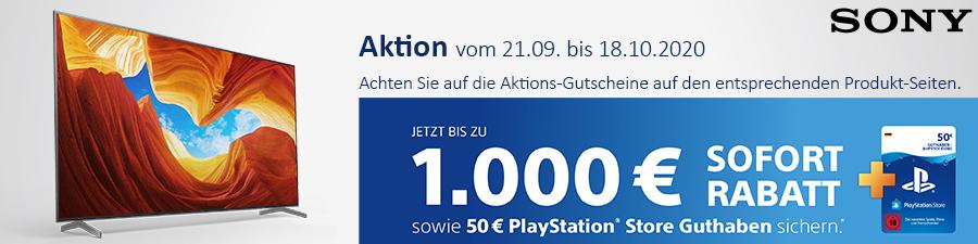 Sony Sofort Rabatt Aktion