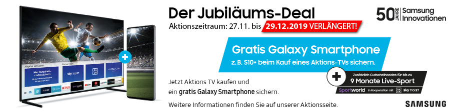 Samsung X-Mas Jubiläums-Deal