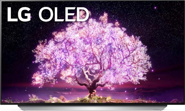 LG OLED77C18LA - OLED TV C18 - Ansicht vorne