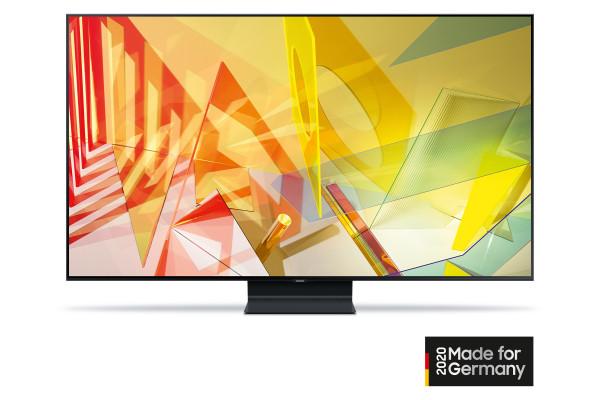 Samsung Q90T GQ55Q90TGTXZG - 4K QLED TV - Ansicht vorne 2