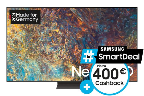 Samsung #SmartDeal Cashback Aktion: Samsung QN95A GQ75QN95AATXZG Ansicht vorne