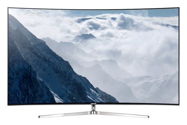 Samsung UE55KS9090TXZG SUHD TV Ansicht vorne