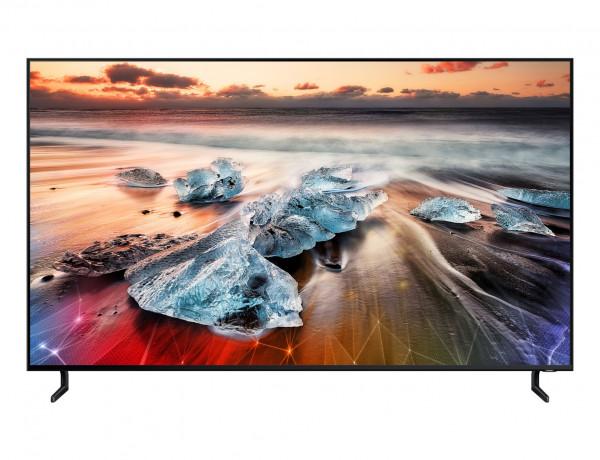 Samsung Q950R GQ55Q950rgtxzg - 8K QLED TV - Ansicht vorne