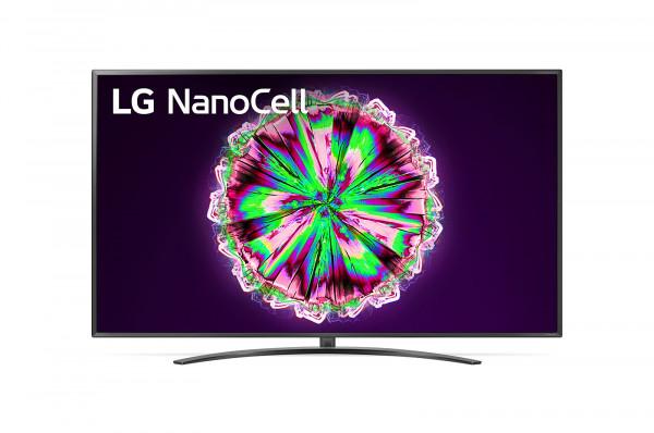 LG 75NANO796NF 4K TV - Ansicht vorne