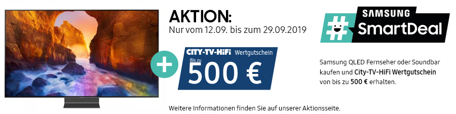 Samsung #SmartDeal Aktion September 2019