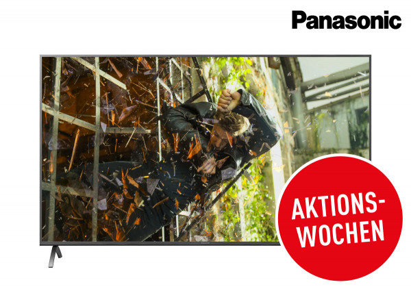 Panasonic Cashback Aktion: Panasonic TX-43HXW904 Ansicht vorne 1