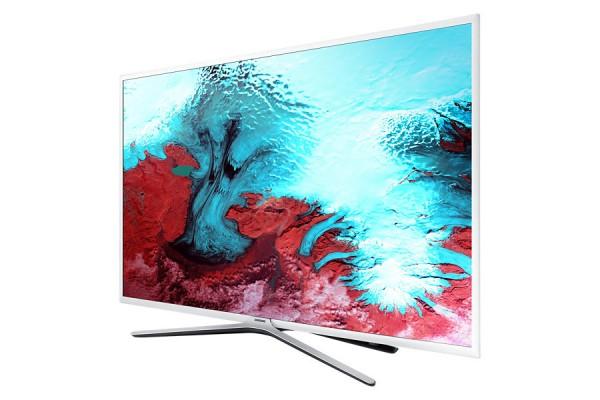 Samsung UE40K5589SUXZG FullHD LED TV - weiß - Ansicht seitlich 2