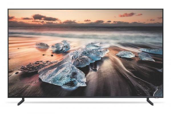 Samsung GQ75Q900RGLXZG - 8K Fernseher - Ansicht vorne