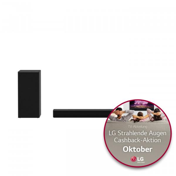 LG Cashback Aktion: LG DSPD7Y Soundbar - Ansicht