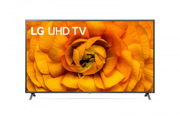 LG 75UN85006LA 4K UHD TV - Ansicht vorne