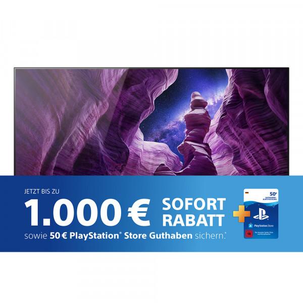 Sony SofortRabatt Aktion: Sony A87 OLED TV KD-55A87BEAP OLED TV - Ansicht vorne 1