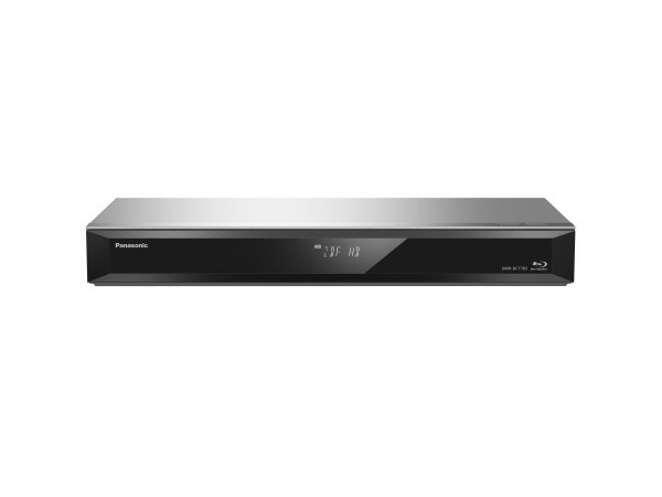 Panasonic DMR-BCT765EG - Silber - Ansicht vorne