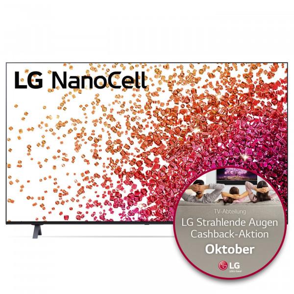 LG Cashback Aktion: LG 55NANO759PA 4K TV - Ansicht vorne 1
