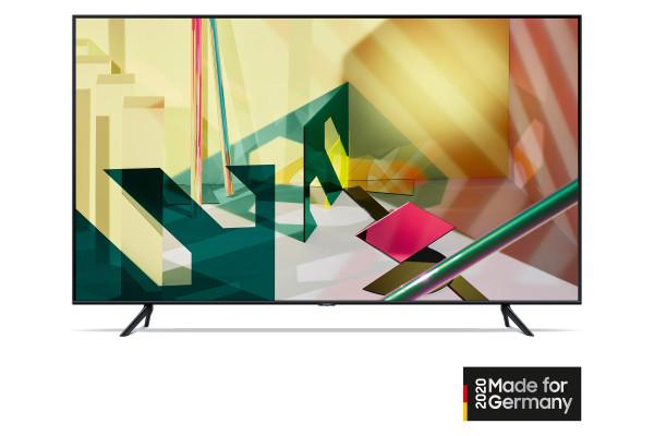 Samsung Q70T GQ65Q70TGTXZG - 4K QLED TV - Ansicht vorne 2